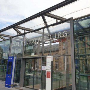 MEA lijnafwatering in Gare du Luxembourg