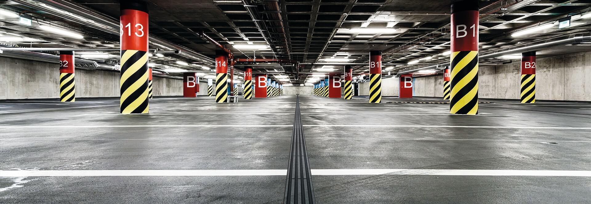 Mea Water Management voor garages en parkeerplaatsen