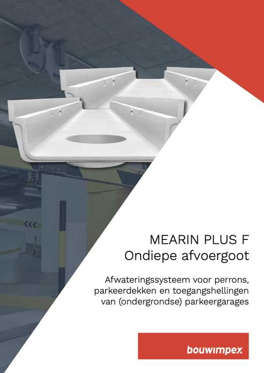 Mearin Plus F ondiepe afvoergoot