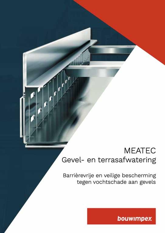 Meatec gevel- en terrasafwatering