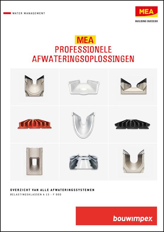 Overzicht MEA Lijnafwatering Producten